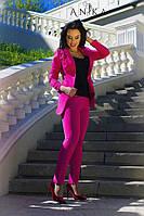 Костюм женский пиджак и брюки норма , фото 1