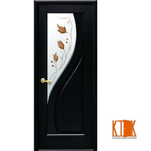 Міжкімнатні двері Новий Стиль Прима Р1 венге