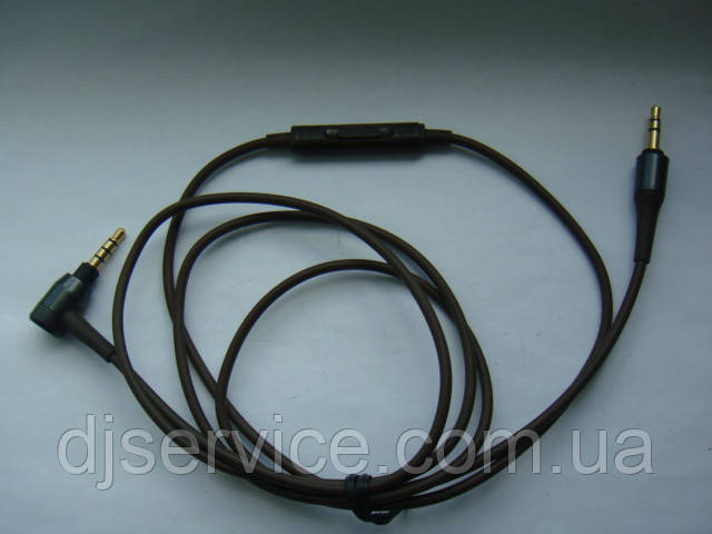 Кабель (шнур коричневый) для наушников Audio-Technica ATH-MSR7 MSR7NC, AR3BT, 5PRO, ATH-AR5BT