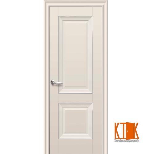 Межкомнатные двери Новый Стиль Имидж ПГ  (капучино) молдинг
