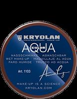 Коричневый  аквагрим AQUACOLOR 55мл(оттенок 046)