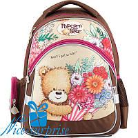 Ортопедичний рюкзак для дівчинки Kite Popcorn the Bear PO18-521S (1-4 клас), фото 1