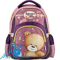 Ортопедический школьный рюкзак для девочки Kite Popcorn the Bear PO18-518S, фото 1