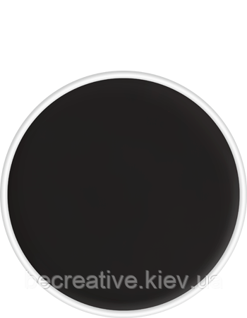 Классический черный аквагрим Aquacolor, 4 мл (оттенок 071)