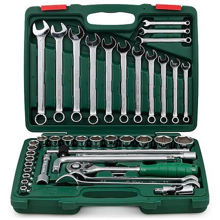 """Набор торц головок 1/2"""" 8-32мм и комбиниров ключей 42 пр. (TK-42 HANS tools), фото 2"""
