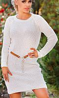 Платье женское Цвет молочный Ткань коттон Сезон Осень 2016 Размеры 42-50  , фото 1
