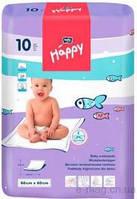 Одноразовые пеленки Bella Baby Happy 60x60 см 10 шт