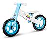 Деревянный велобег Tobi Toys ручки с защитой