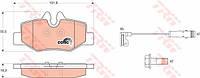 Колодки тормозные Mercedes VIANO (W639), VITO (W639) задние (TRW). GDB1601