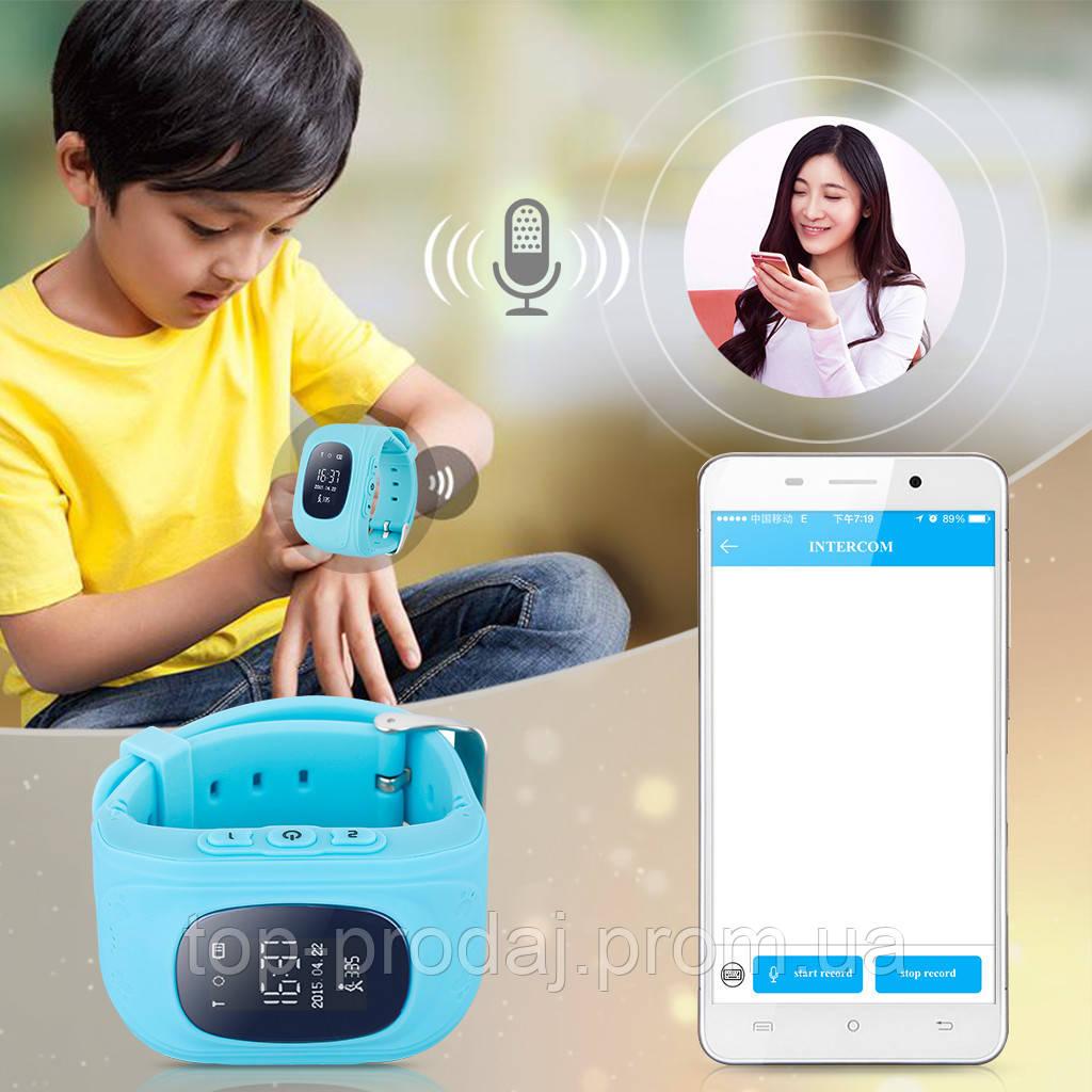Часы smart с трекером  Q50, Умные детские часы, Часы смарт c GPS трекером, Часы с сим картой