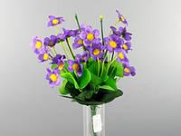 Букет Агростемма 28 цветков Фиолетовый