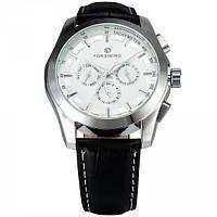 Мужские часы Forsining 1065 Silver