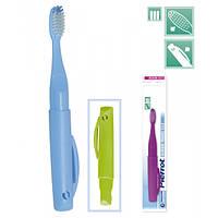 Зубная щётка для путешествий классическая Revolution FUSHIMA Pierrot Travel-Classic Adult Toothbrushes