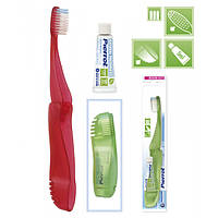 Зубная щётка для путешествий складная Revolution FUSHIMA Pierrot Compact Adult Toothbrushes