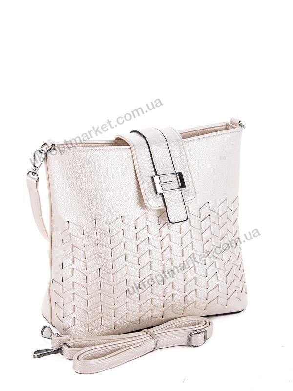 9589f7104065 Сумка женская SF6043-P pearl-white (25x22см, белый)