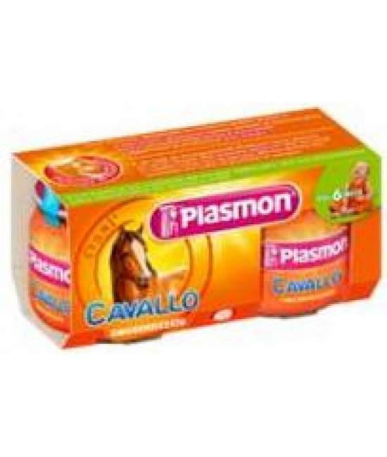 Пюре Plasmon Cavallo від 6 міс. 3х80гр