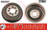 Барабан тормозной задний ВАЗ 2110, 2111, 2112, 2108-09 (TRW). DB4307