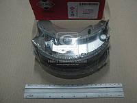 Колодки тормозные барабанные CHEVROLET AVEO (ASHIKA). 55-W0-003
