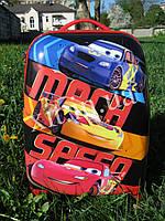 "Детский чемодан 16"" на колесах Cars Тачки, фото 1"