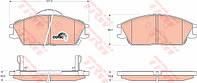 Колодки тормозные HYUNDAI ACCENT, GETZ передние (TRW). GDB3331