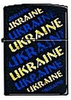 """Зажигалка ZIPPO 218-UG """"Украина"""" памятный подарок патриоту"""