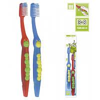 Комплект зубных щёток для детей Гусеница FUSHIMA Pierrot Gusy (x2) Toothbrushes for Children