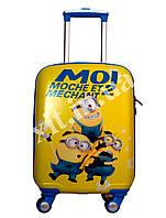"""Детский чемодан 18"""" на 4 колесах Миньон (Minion), фото 1"""