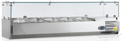 Витрина холодильная Tefcold VK38-120