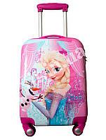 """Детский чемодан 18"""" на 4 колесах Frozen, фото 1"""