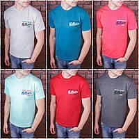 Летняя мужская  футболка в расцветках