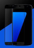 Защитное стекло для телефонов Samsung Galaxy S7 G930 Full Screen черное