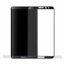 Защитное стекло для телефонов Samsung Galaxy S8 G950 3D черное