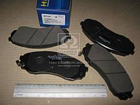 Колодки тормозные KIA H1 2.5CRDI 16V 08.05- KIA CARNIVAL 2.7I 24V 06.06- передние (SANGSIN).