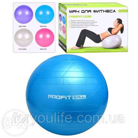 М'яч для фітнесу (фітбол),діаметр 85 см