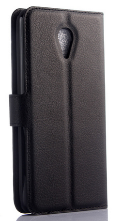 Кожаный чехол-книжка для Meizu M2 / M2 mini белый, фото 2
