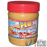 Арахісова паста PEO`s Peanut Butter Creamy - 340 гр.