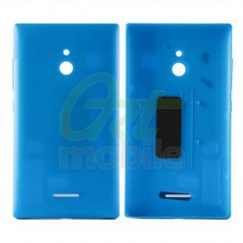 Задняя крышка Nokia XL Dual Sim (RM-1030/1042), голубая