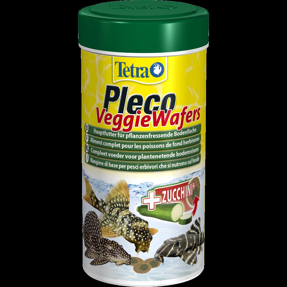 Корм для травоядных донных рыб Tetra Pleco Veggie Wafers 100 мл
