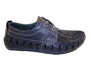 Туфлі чоловічі Silver-Мустанг 169 синій