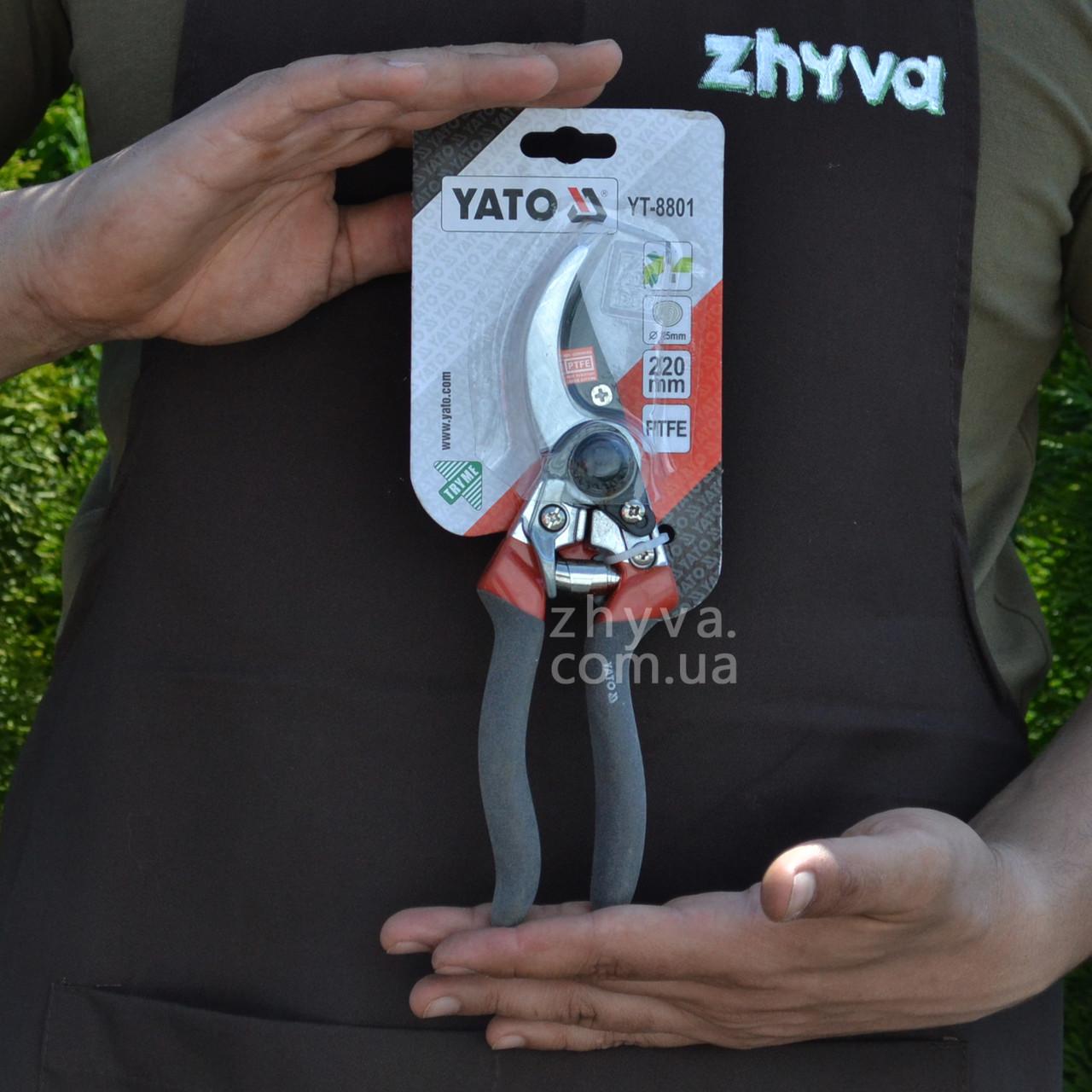 Сікатор садово-гордній Yato 8801 (25мм зрізу)