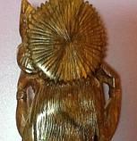 Деревянная статуэтка богини знаний и творчества Сарасвати, фото 2