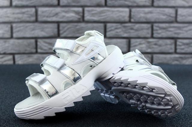Женские сандали Fila Sandals Silver фото