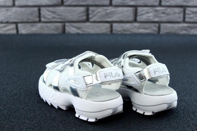 Женские сандалии Fila Sandals Silver фото