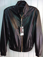 Куртка кожаная Canmore черная