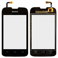 Сенсорный экран Huawei Ascend Y210 U8685 черный (тачскрин, стекло в сборе)