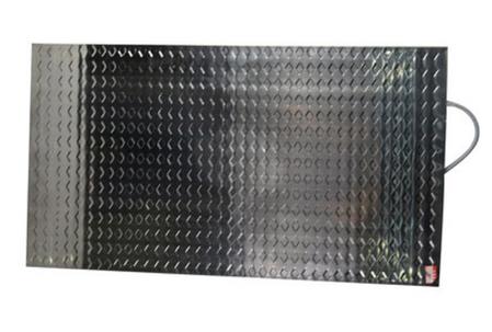Электрический коврик (термоплита) 55*100 см., нерж., фото 2