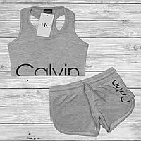 Женский комплект майка и шорты Calvin Klein