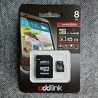 Карта памяти Addlink microSD 8GB class 10