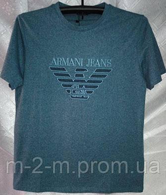 dd51c6408d76 Футболка ARMANI JEANS синяя (50) - Bigl.ua