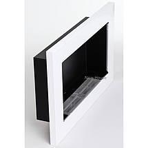 Біокамін GLOBMETAL 900х400 мм білий глянцевий, фото 3